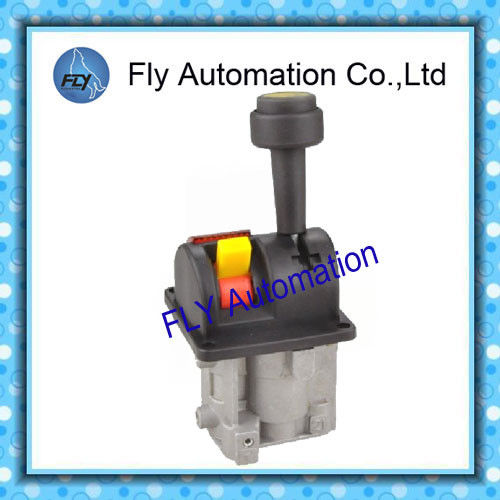 Automatic Locked Hydraulic Dump Truck Controls Valve For Stop And Fall
