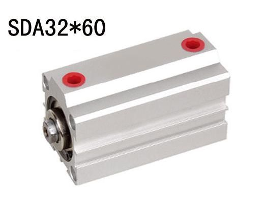 Double Acting SDA Thin Pneumatic Air Cylinders