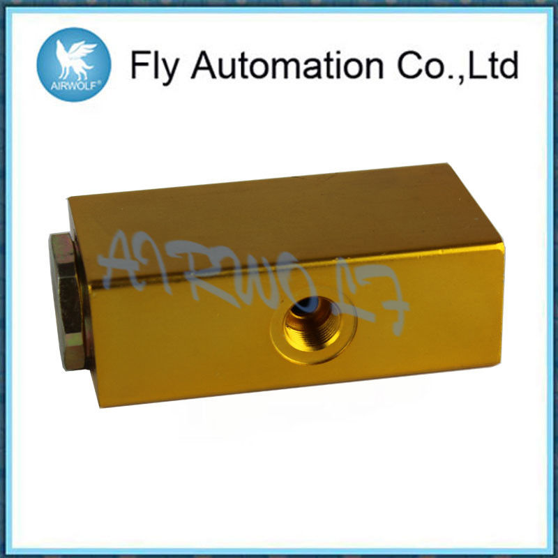 Brass Yellow 3/2 Way Hydraulic Limit Valve With Long Service Life