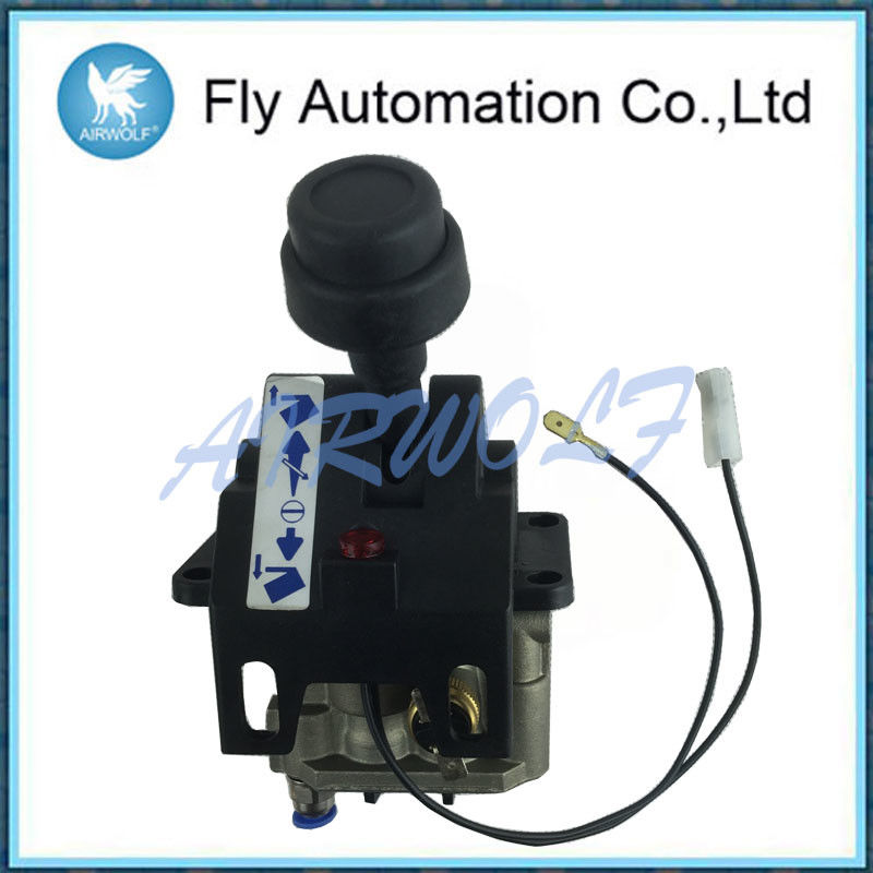 4CV-D Four Hole Dump Truck Control Valve With PTO Function Aluminum Alloy