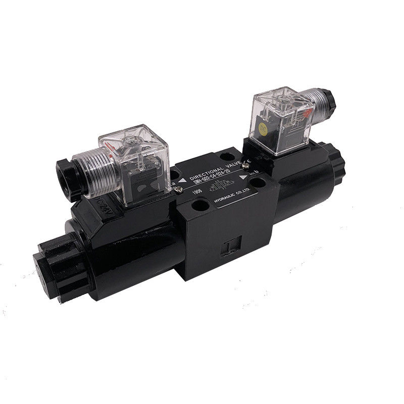 SWH-G02-D24-20 Electromagnetic Directional Valve / Hydraulic Solenoid Valve