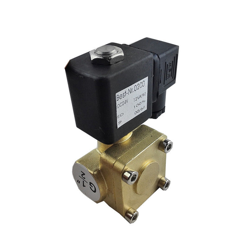 "0927200 Pilot Controlled Pneumatic Solenoid Valves 2/2 Way G1/2"" Switch Control"