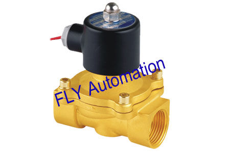 1.05 Mpa 24V Unid 2 Ways Brass Zinc Alloy Water Solenoid Valves 2W250-25