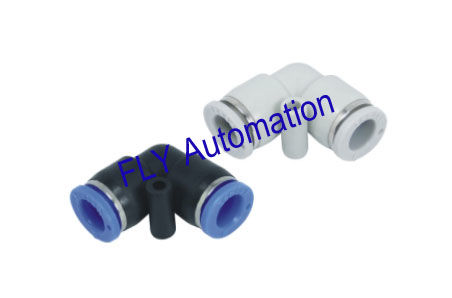 PV Union Elbow Plastic R Thread Metric Pneumatic Tube Fittings