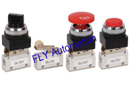 3/2way Shako Mechanical Pneumatic Manual Valves MOV-01,MOV-02,MOV-03,MOV-03A