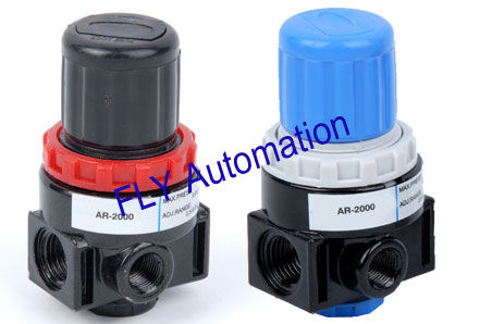 Airtac Air Preparation Units and Accessories Air regulator, AR2000,BR2000,BR3000,BR4000