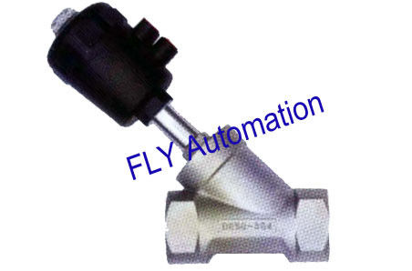 "PA Actuator 2"" 2000 001140,001601 Threaded Port 2/2 Way Angle Seat Valve"